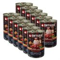 Konzerva ONTARIO Culinary Minestrone Chicken and Pork 12 x 400 g