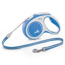 Flexi NEW COMFORT vodítko M do 20 kg, 5m lanko – modré