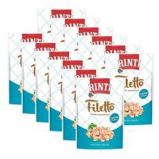 Kapsička RINTI Filetto kuře + losos, 12 x 100 g