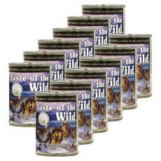 TASTE OF THE WILD Wetlands Canine - konzerva, 12 x 390g