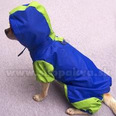 Pláštěnka pro psa - modrozelená, S