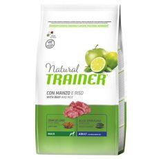 Trainer Natural Adult Maxi, hovězí a rýže 3 kg