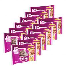 Whiskas Casserole Drůbeží výběr v želé 12 x (4 x 85 g)