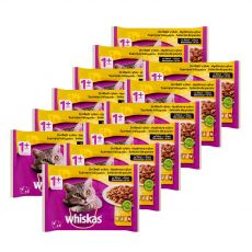 Whiskas Drůbeží výběr ve šťávě 12 x (4 x 100 g)