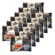 Sheba Selection Šťavnatý výběr kapsiček 12 x (4 x 85 g)