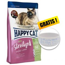 Happy Cat Sterilised Weide Lamm / Jehně 4 kg