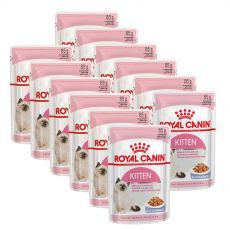 Royal Canin KITTEN Instinctive in Jelly 12 x 85 g - želé v kapsičce