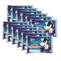 Kapsičky pro kočky FELIX - mořské hody v želé, 12 x 400 g