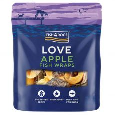 FISH4DOGS Love Apple Fish Wraps 90 g