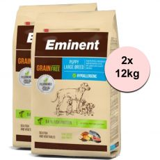 EMINENT Grain Free Puppy Large Breed 2 x 12 kg