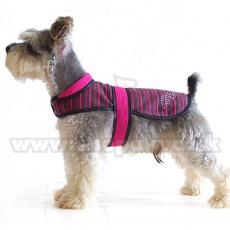 Vesta pro psy - růžovočerná, XL