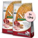 Farmina N&D dog LG SENIOR MEDIUM & MAXI Chicken & Pomegranate 2 x 12 kg