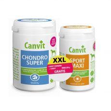 Canvit Chondro Super 500 g + Canvit Sport Maxi 230 g GRATIS