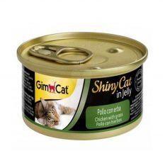 GimCat ShinyCat in jelly kuře 70 g