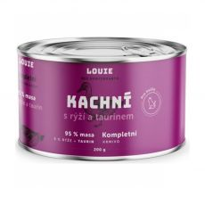 LOUIE Kachna s rýží a taurinem 200 g