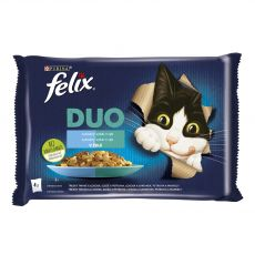 Kapsičky FELIX DUO – lahodný výběr z ryb 4 x 85 g