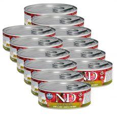 Farmina N&D cat Quinoa Duck & Coconut konzerva 12 x 80 g