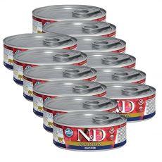 Farmina N&D cat Quinoa Digestion konzerva 12 x 80 g