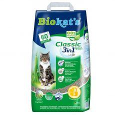 Biokat's Classic 3 v 1 fresh podestýlka 18 l