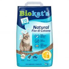 Biokat's Natural Fior di Cotone podestýlka 5 kg