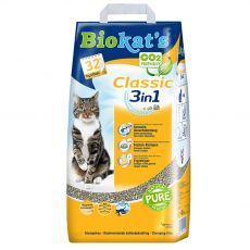 Biokat's Classic 3 v 1 podestýlka 18 l