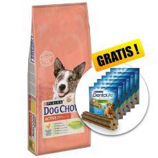 PURINA DOG CHOW Active 14 kg+ DÁREK