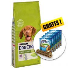 PURINA DOG CHOW ADULT Lamb 14 kg+ DÁREK