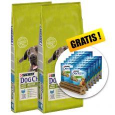 PURINA DOG CHOW ADULT LARGE BREED Turkey 2 x 14 kg+ DÁREK