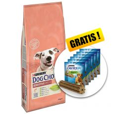PURINA DOG CHOW SENSITIVE Salmon & Rice 14 kg+ DÁREK