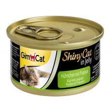 GimCat ShinyCat kuře + papája 70 g