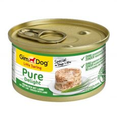 GimDog Pure Delight kuře + jehně 85 g