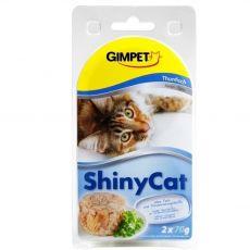 GimCat ShinyCat tuňák 2 x 70 g