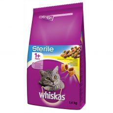 WHISKAS Sterile pro kočky 1,4 kg