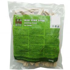 HUHU Bamboo hvězdicové tyčinky mini 500 g