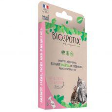 BIOGANCE Biospotix Cat spot-on s repelentním účinkem 5 x 1 ml