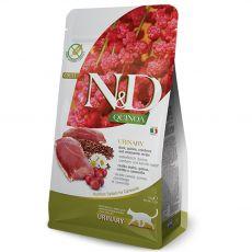 Farmina N&D cat QUINOA (GF) adult, urinary, duck & quinoa 0,3 kg
