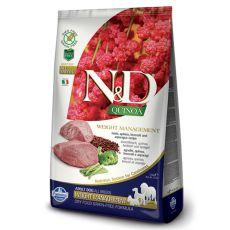 Farmina N&D dog GF QUINOA Weight Managment Lamb 0,8 kg