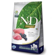 Farmina N&D Prime dog GF MEDIUM & MAXI Lamb & Blueberry 12 kg