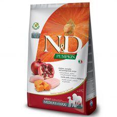Farmina N&D dog GF PUMPKIN adult medium/maxi, chicken & pomegranate 2,5 kg