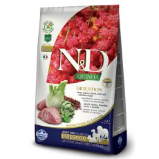 Farmina N&D dog GF QUINOA Digestion Lamb 2,5 kg