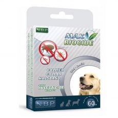 MAX BIOCIDE Antiparazitní obojek pro střední psy 60 cm