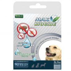 MAX BIOCIDE Antiparazitní kapky pro psy 3 x 3 ml