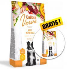 Calibra Dog Verve GF Adult Medium Chicken & Duck 12 kg + 2 kg GRATIS