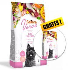 Calibra Dog Verve GF Senior Small Chicken & Duck 6 kg + 1,2 kg GRATIS