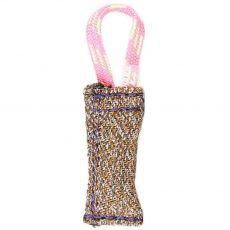 Ringový pešek s nylonovým poutkem JULIUS-K9, 10 cm