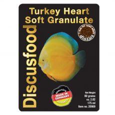 Discusfood Turkey Heart Soft Granulate 1 mm 80 g