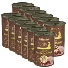 Fitmin Purity Adult Chicken & Liver 12 x 400 g