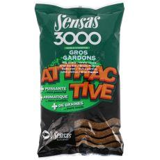 Krmení 3000 Attractive Gros Gardon (velká plotice) 1kg