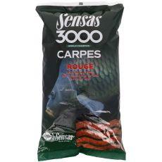Krmení 3000 Carpes Rouge (kapr červený) 1kg