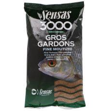 Krmení 3000 Gros Gardons Fine (velká plotice-jemné) 1kg